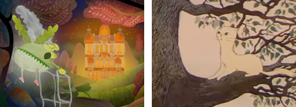 Granny O'Grimm's Sleeping Beauty, The Tree and the CAt
