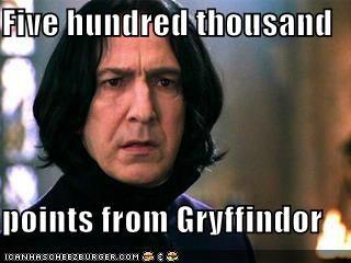 Gryffindor meme