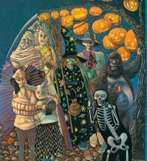 Leo and Diane Dillon and The Halloween Tree.