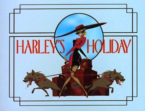 Batman the Animated Series Harleys Holiday