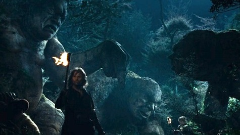 Lord of the Rings Troll Hobbit Stone