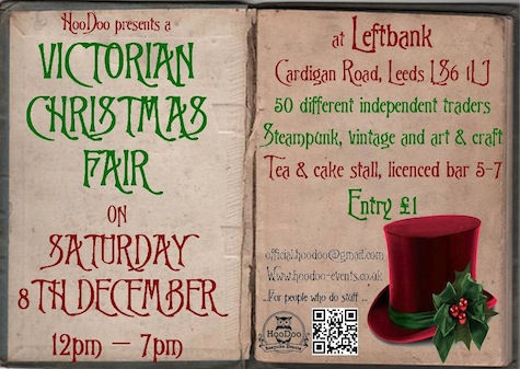 Upcoming Steampunk Events for December 2012