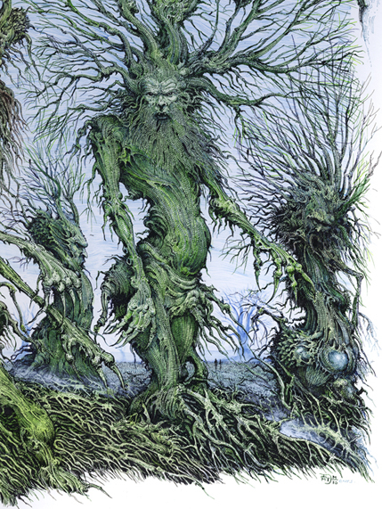 Ian Miller, the Lord of the Rings