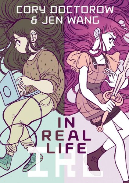 Cory Doctorow Jen Wang In Real Life graphic novel review