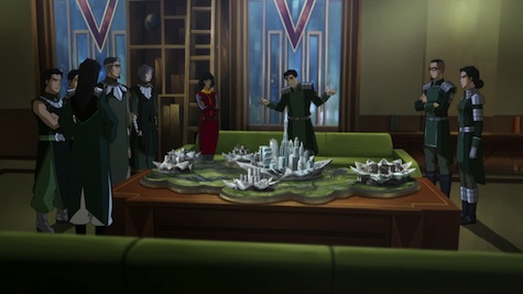 Legend of Korra Enemy at the Gates