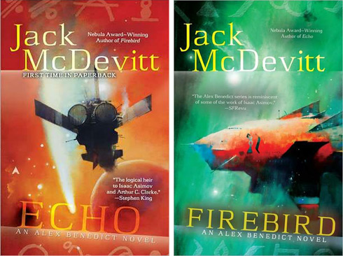 A Talent For Future Archaeology Firebird And Echo By Jack Mcdevitt