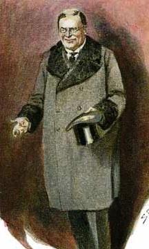 Paget's illustration of Milverton