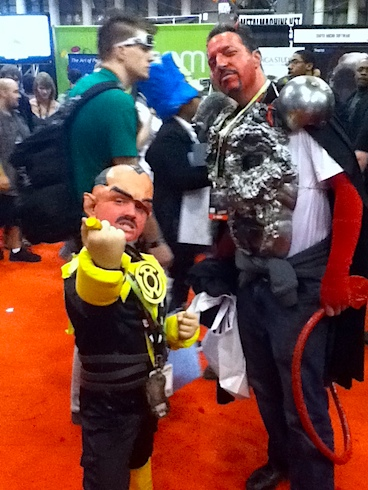 New York Comic Con Saturday Costume Parade