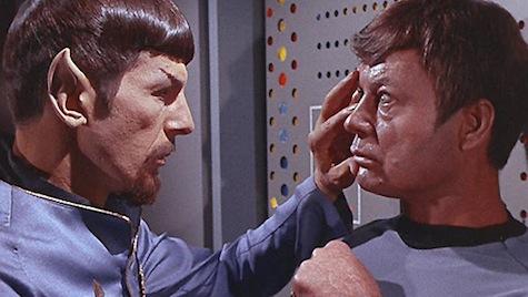 Star Trek, Vulcan Mind Meld, Evil Spock, Bones