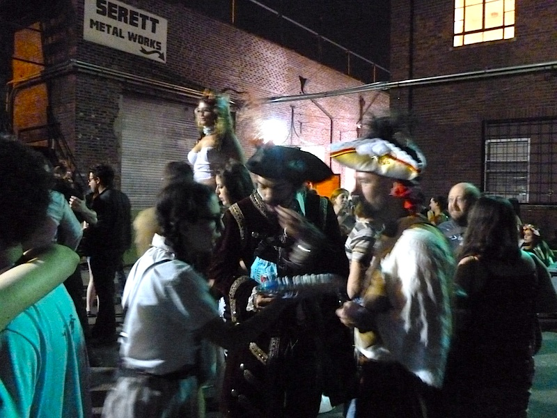 A Picture Tour of Amanda Palmer's Weird Brooklyn Lot Party (with Neil Gaiman)