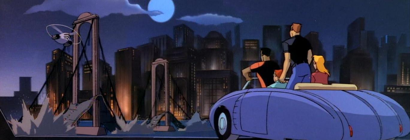Batman The Animated Series Rewatch Blind as a Bat