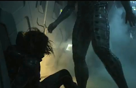 Do these legs belong to a space god alien who lives inside the space jockey suit?