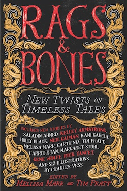 Rags and Bones Melissa Marr Tim Pratt