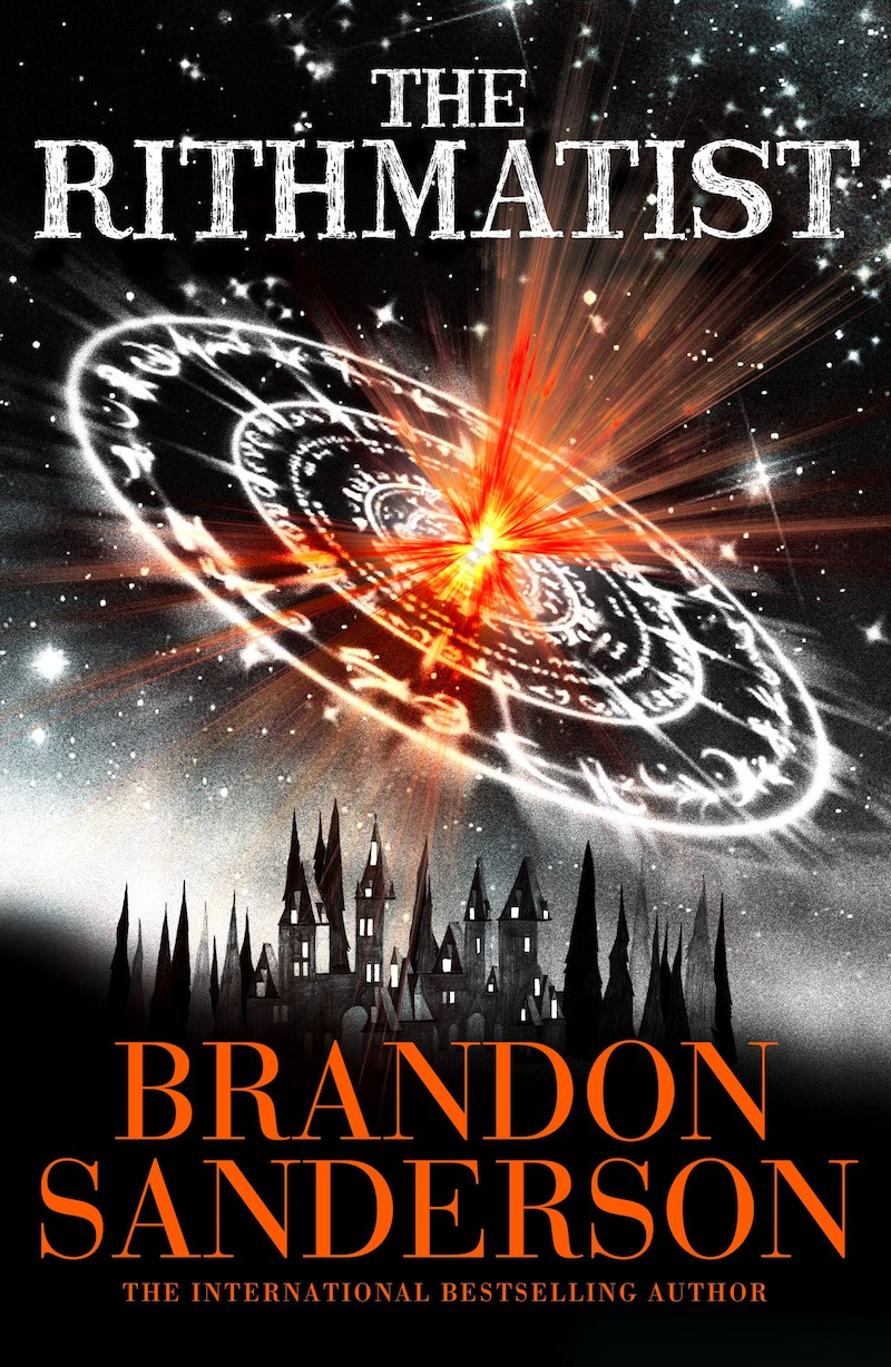 Brandon Sanderson The Rithmatist ebook cover