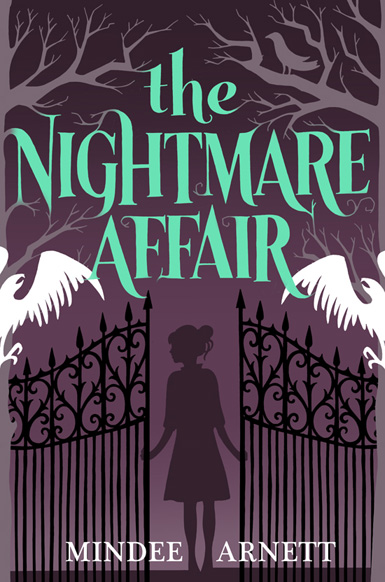 Cover Reveal for The Nightmare Affair by Mindee Arnett