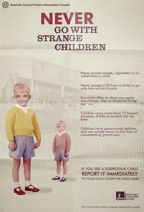 Welcome to Scarfolk Hope You Survive