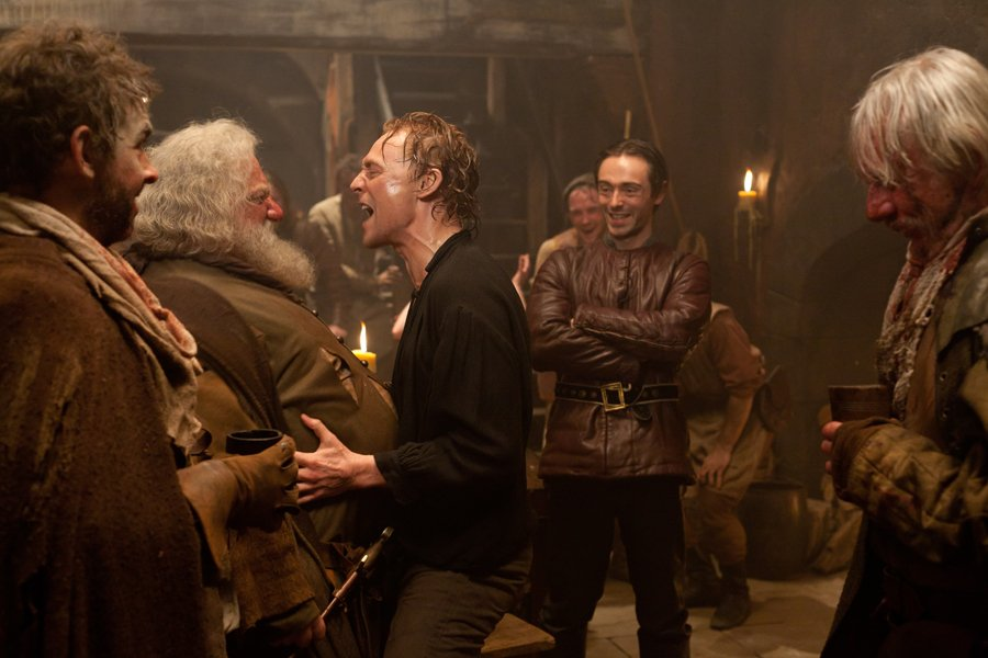Hal teasing and criticizing Falstaff in The Hollow Crown