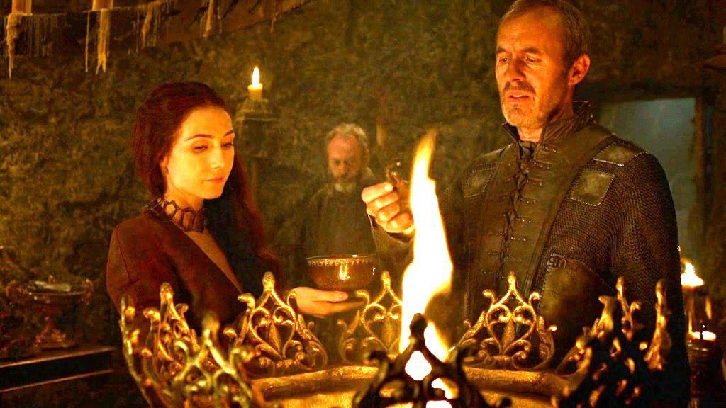 Melisandre Stannis Baratheon Game of Thrones