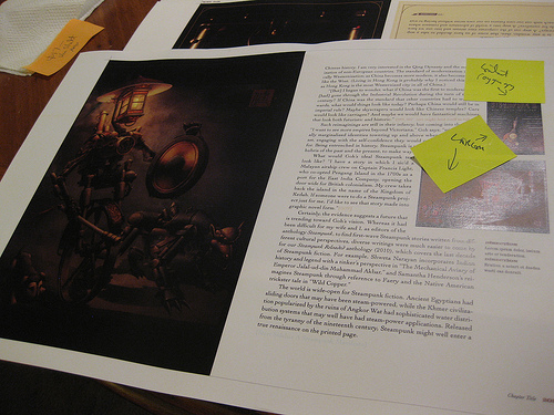Steampunk Bible by S.J. Chambers and Jeff VanderMeer