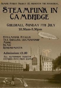Steampunk in Cambridge