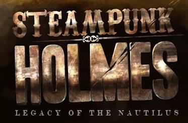 Logo for Steampunk Holmes, courtesy of Nobel Beast LLC