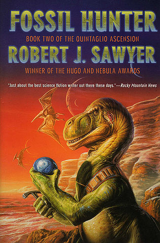 10 Essential Science Fiction Dinosaur Books Fossil Hunter Robert J. Sawyer