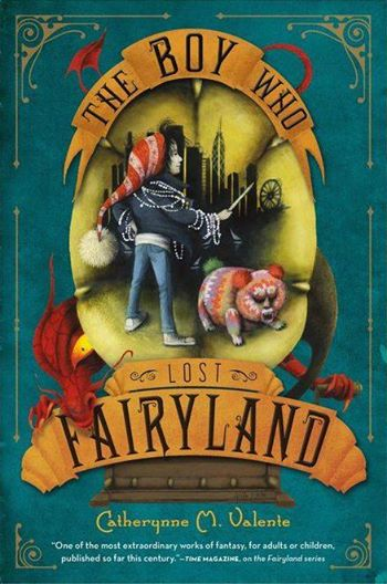 The Boy Who Lost Fairyland Cat M Valente