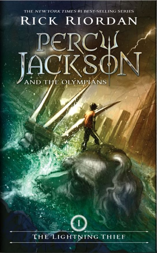 The Lightning Thief (Percy Jackson and the Olympians #1) by Rick Riordan