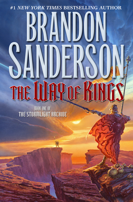 The Way of Kings, by Brandon Sanderson, cover art by Michael Whelan