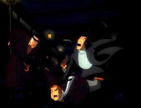 Batman the Animated Series, Alfred, MI5