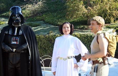 Vader, Leia, & Luke