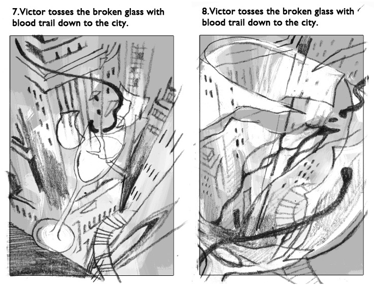Victo Ngai's Vicious sketches.