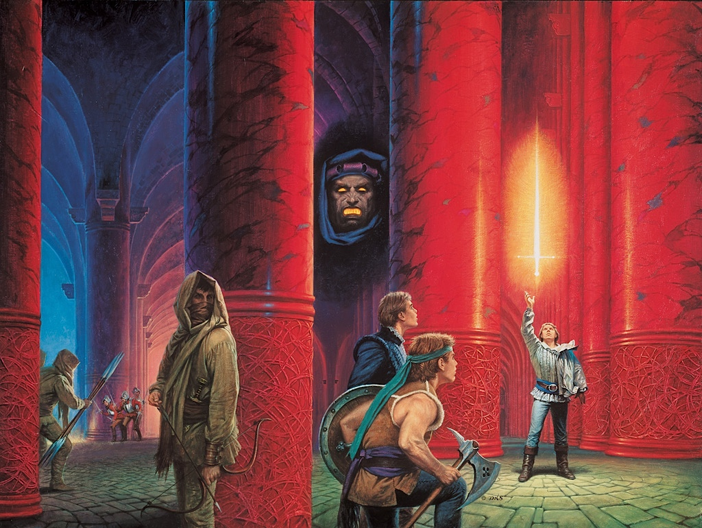The Dragon Reborn cover by Darrell K Sweet
