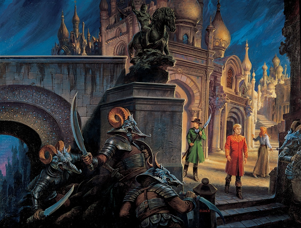 The Fires of Heaven cover by Darrell K Sweet