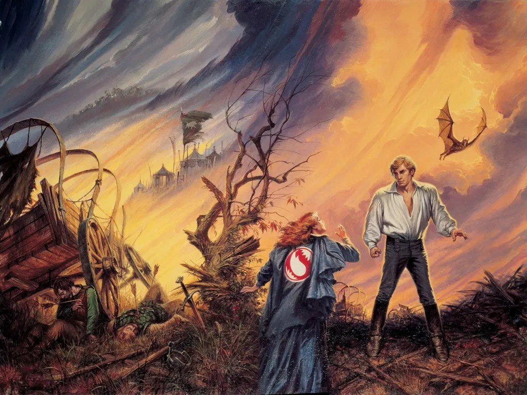 Lord of Chaos cover by Darrell K Sweet
