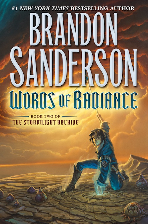 Words of Radiance Brandon Sanderson US cover Tor Books