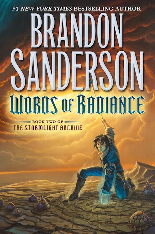 Words of Radiance Brandon Sanderson US cover Tor Books