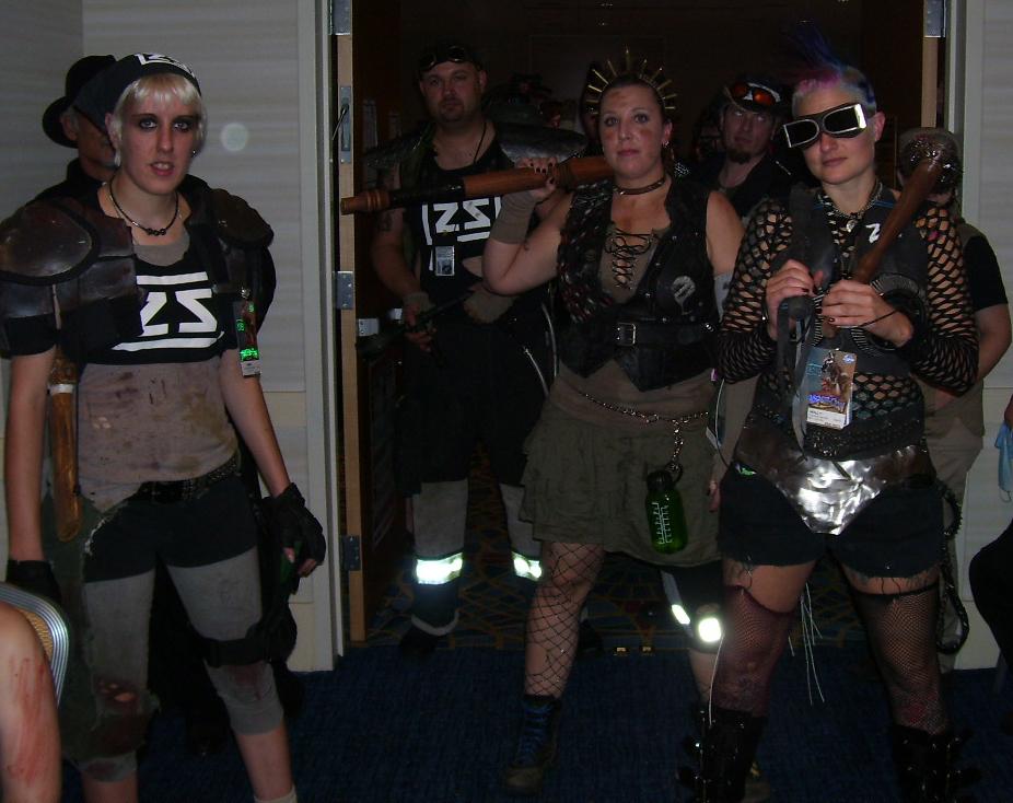 They heard we had a Zombie Problem.