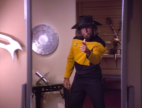/'I/'ve seen a Klingon/'s cum face/' Funny Star Trek Worf Klingon Mens T-shirt