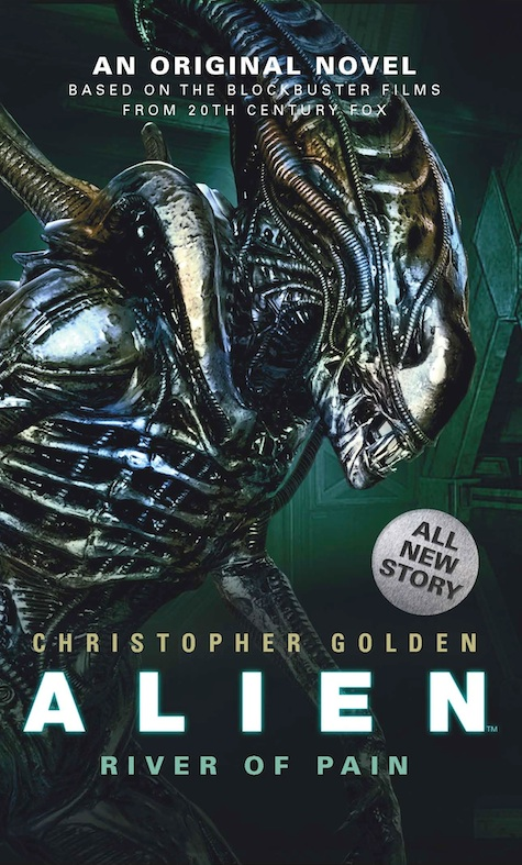 Aliens Fire and Stone Christopher Roberson Aliens River of Pain Christopher Golden Scott Allie interview
