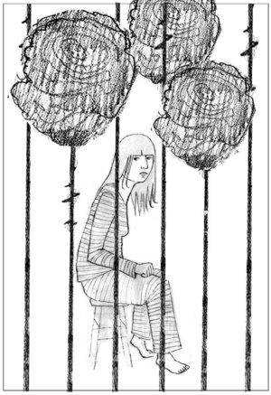 Scott Bakal on creating the art for Kathryn Cramer's story: Am I Free to Go?