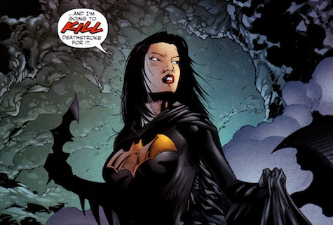 Asian American comics characters Cassandra Cain Batgirl