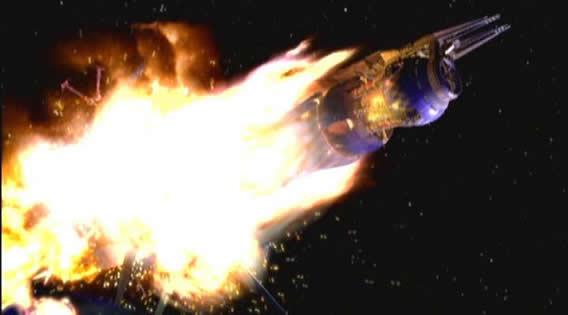 Babylon 5 explodes in 'Sleeping in Light'