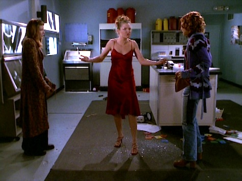 Buffy the Vampire Slayer, Blood Ties, Glory, Willow, Tara