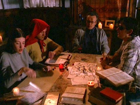 Buffy the Vampire Slayer, Chosen, Giles, Andrew, Amanda, Xander