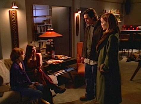 Buffy the Vampire Slayer, Intervention, Xander, Anya, Tara, Willow