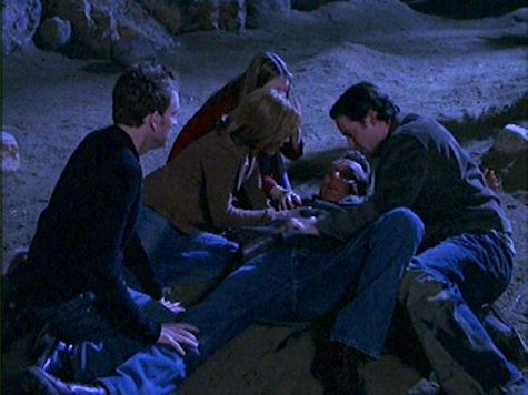Buffy the Vampire Slayer, The Killer in Me, Giles, Anya, Andrew, Xander, Dawn