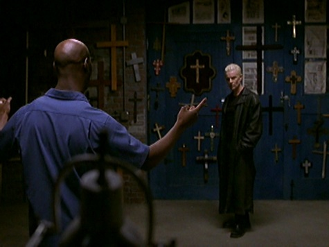 Buffy the Vmpire Slayer, Lies My Parents Told Me, Robin, Spike