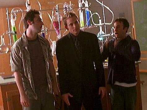 Buffy the Vampire Slayer, Storyteller, Andrew, Warren, Jonathan