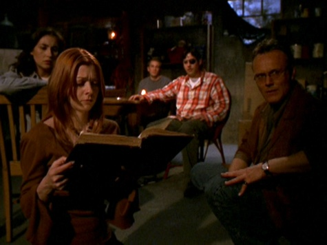 Buffy the Vampire Slayer, Touched, Willow, Andrew, Kennedy, Giles, Xander